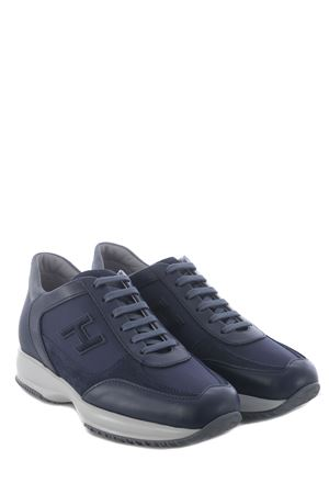 Hogan Interactive sneakers in nubuck and leather HOGAN | 5032245 | HXM00N0Q101PDI647M