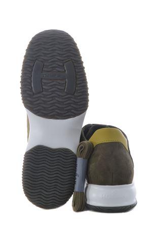Hogan Interactive sneakers in nubuck and nylon HOGAN | 5032245 | HXM00N0Q101PDU647Q