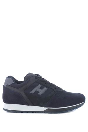 Sneakers Hogan H321 in pelle scamosciata e nylon a rete HOGAN | 5032245 | HXM3210Y851N8L647F