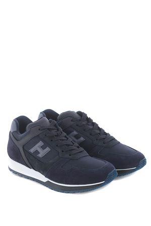 Hogan H321 sneakers in suede and mesh nylon HOGAN | 5032245 | HXM3210Y851N8L647F