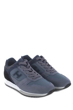 Sneakers Hogan H321 in pelle scamosciata e nylon HOGAN | 5032245 | HXM3210Y860P9S844Z