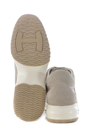 Sneakers donna Hogan Interactive H strass in pelle scamosciata e nylon HOGAN | 5032245 | HXW00N02011FI70KL4