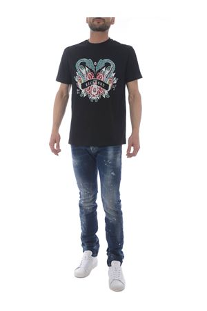 T-shirt John Richmond Winkusa in cotone JOHN RICHMOND | 8 | RMP21024TSBLACK
