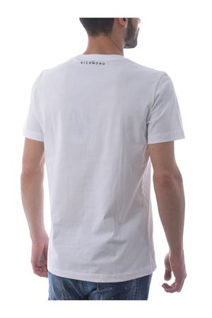 T-shirt Richmond Fondulac in cotone JOHN RICHMOND | 8 | RMP21041TSWHITE