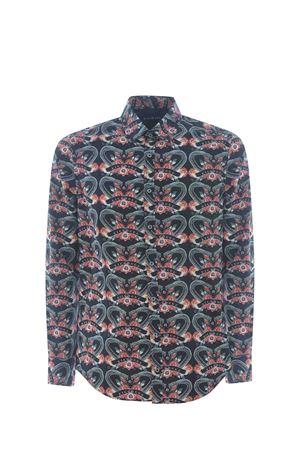 John Richmond Viridian shirt JOHN RICHMOND | 6 | RMP21090CAHAWAIIAN-SNAKE