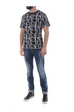T-shirt Richmond Harbori in cotone JOHN RICHMOND | 8 | RMP21211TSGR.BLK-WHT