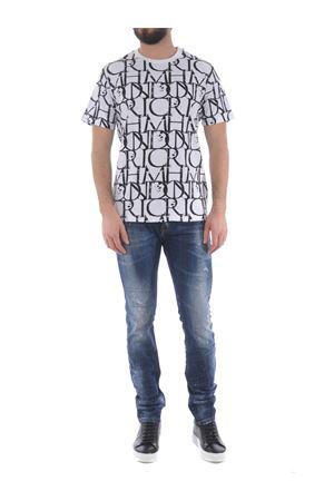 T-shirt Richmond Harbori in cotone JOHN RICHMOND | 8 | RMP21211TSGR.WHT-BLK