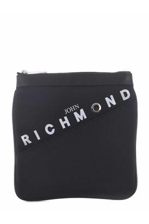 John Richmond Bandolier Tuppelo shoulder post in nylon JOHN RICHMOND | 31 | RMP21242BOBLACK