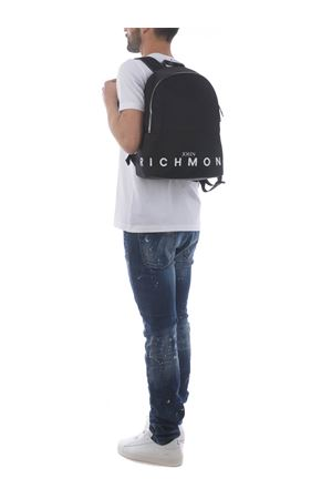 John Richmond Catskil nylon backpack JOHN RICHMOND | 10000008 | RMP21249ZABLACK