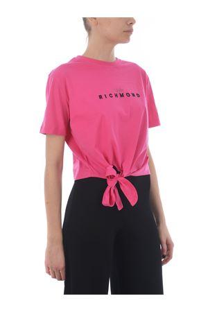 John Richmond Sanguini cotton t-shirt JOHN RICHMOND | 8 | RWP21112TSFUCSIA