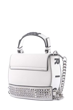 John Richmond Crumet eco-leather shoulder bag JOHN RICHMOND | 31 | RWP21259BOWHITE