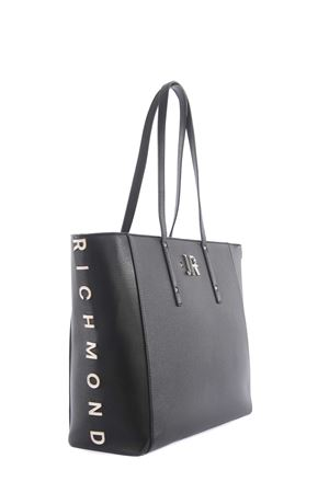 John Richmond Hunting eco-leather shopping bag