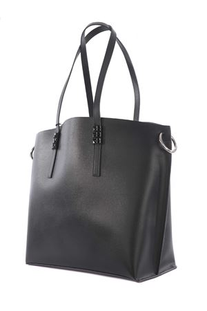 John Richmond Unduit eco-leather shopping bag JOHN RICHMOND | 31 | RWP21326BOBLACK