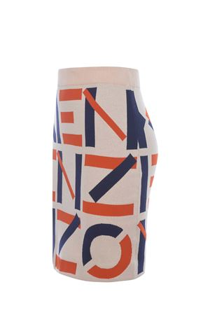 Kenzo Logo cotton skirt  KENZO | 15 | FB52JU5313SC09