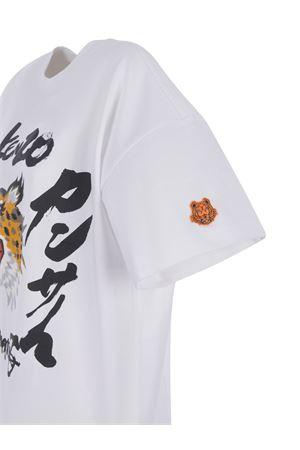 T-shirt Kenzo Cheetah  in cotone KENZO | 8 | FB52TS6404SK01