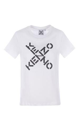 T-shirt Kenzo Logo in cotone KENZO | 8 | FB52TS8504SJ01