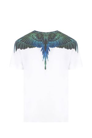 T-shirt Marcelo Burlon Wings Regular in cotone MARCELO BURLON | 8 | CMAA018R21JER0010169