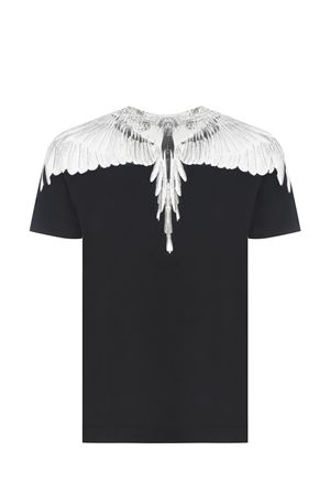 T-shirt Marcelo Burlon Wings Regular in cotone MARCELO BURLON | 8 | CMAA018R21JER0011001