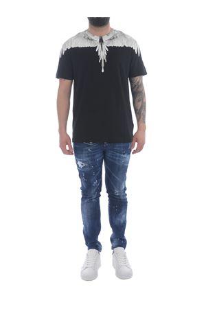 Marcelo Burlon Wings Regular cotton t-shirt  MARCELO BURLON | 8 | CMAA018R21JER0011001
