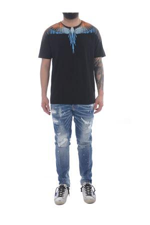Marcelo Burlon Wings Regular cotton t-shirt MARCELO BURLON | 8 | CMAA018R21JER0011020