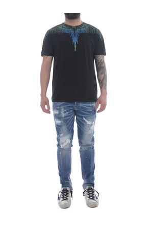 Marcelo Burlon Regular Wings cotton t-shirt MARCELO BURLON | 8 | CMAA018R21JER0011069