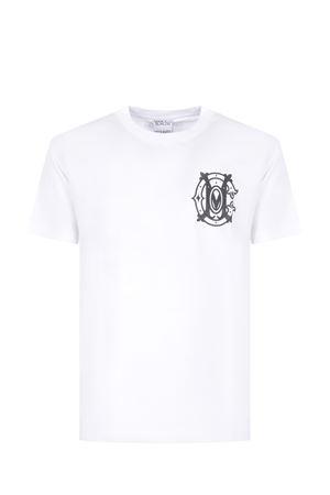 T-shirt Marcelo Burlon Monogram in cotone MARCELO BURLON | 8 | CMAA018R21JER0050110