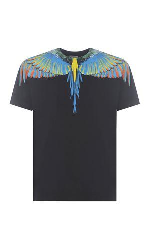 Marcelo Burlon Birds Wings cotton T-shirt  MARCELO BURLON | 8 | CMAA018S21JER0011045