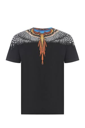 T-shirt Marcelo Burlon  grizzly wings in cotone MARCELO BURLON | 8 | CMAA018S21JER0021020