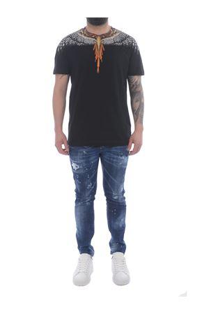 Marcelo Burlon Grizzly Wings cotton t-shirt  MARCELO BURLON | 8 | CMAA018S21JER0021020
