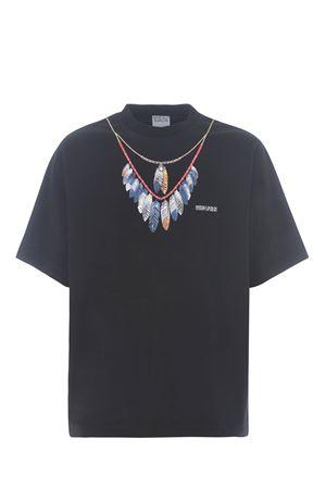 Marcelo Burlon Double Chain cotton T-shirt  MARCELO BURLON | 8 | CMAA054S21JER0021045