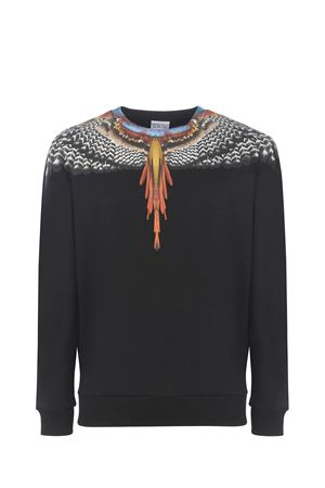 Felpa Marcelo Burlon Grizzly Wings in cotone MARCELO BURLON | 10000005 | CMBA009S21FLE0011020