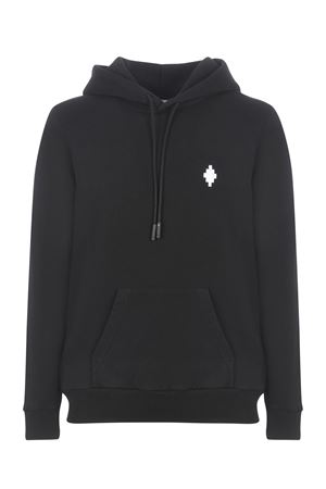 Felpa Marcelo Burlon Cross Regular Hoodie in cotone MARCELO BURLON | 10000005 | CMBB007R21FLE0041001