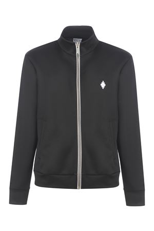 Felpa Marcelo Burlon Cross Slim Track Jacket in nylon MARCELO BURLON | 10000005 | CMBD007R21JER0011001