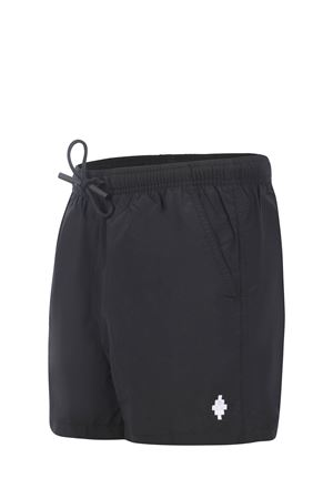 Costume Marcelo Burlon Cross Swimming Short in nylon MARCELO BURLON | 85 | CMFA003R21FAB0011001
