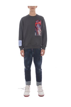 MCQ Relaxed Sweatshirt in cotton MCQ | 10000005 | 624832RQT38-1342