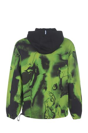 MCQ Overlay Hoodie cotton sweatshirt MCQ | 10000005 | 641244RQT30-1033