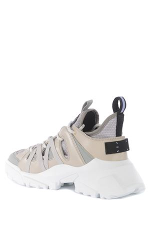 Sneakers MCQ Al-4 Orbytr Descender in pelle MCQ | 5032245 | 652433R2734-2301