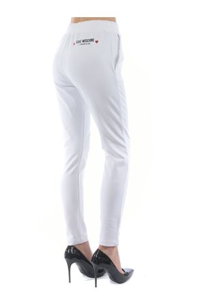 Pantaloni jogging Love Moschino in cotone stretch MOSCHINO LOVE | 9 | W151303E2180-A00