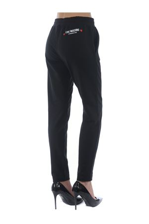 Pantaloni jogging Love Moschino in cotone stretch MOSCHINO LOVE | 9 | W151303E2180-C74