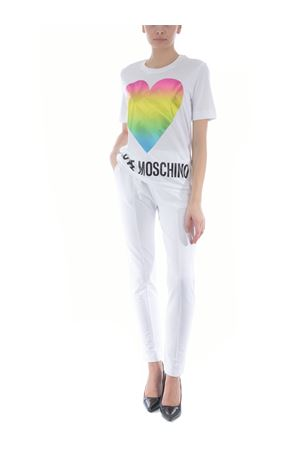 Love Moschino T-shirt in cotton jersey MOSCHINO LOVE | 8 | W4F152TM3876-A00