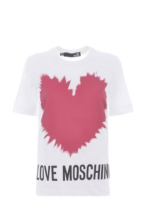 Moschino Love cotton T-shirt  MOSCHINO LOVE | 8 | W4F153AM3876-A00