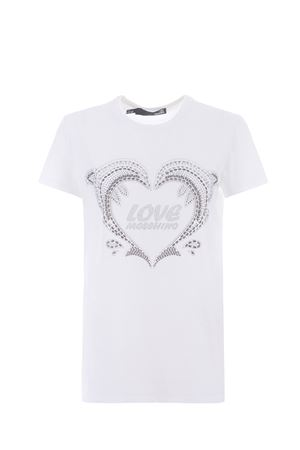 Moschino Love cotton T-shirt  MOSCHINO LOVE | 8 | W4F731NM3876-A00