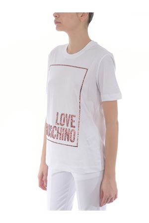 T-shirt Love Moschino in jersey di cotone MOSCHINO LOVE | 8 | W4H0605M3876-A00