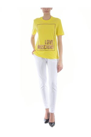 Love Moschino T-shirt in cotton jersey MOSCHINO LOVE | 8 | W4H0605M3876-H84