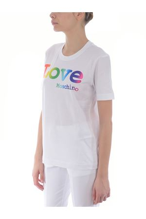 T-shirt Love Moschino in jersey di cotone MOSCHINO LOVE | 8 | W4H0606M3876-A00