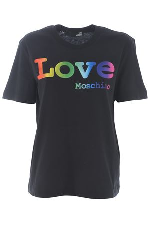 Love Moschino T-shirt in cotton jersey MOSCHINO LOVE | 8 | W4H0606M3876-C74