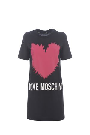 Abito Moschino Love Heart in cotone MOSCHINO LOVE | 11 | W5A0221M3876-C74