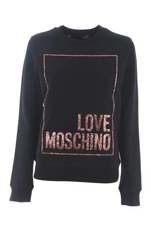 Love Moschino sweatshirt in stretch cotton MOSCHINO LOVE | 10000005 | W630220E2180-C74