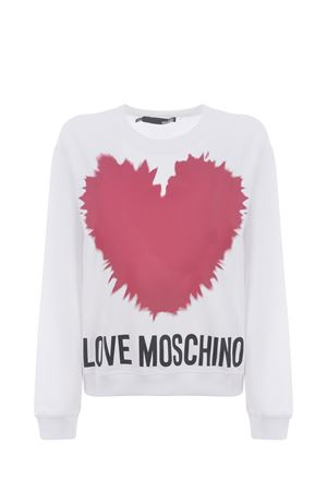Moschino Love cotton sweatshirt MOSCHINO LOVE | 10000005 | W630643M4282-A00