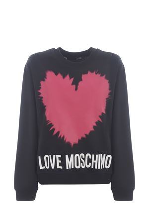 Moschino Love cotton sweatshirt MOSCHINO LOVE | 10000005 | W630643M4282-C74